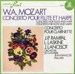 FR ERATO EF28011 ランパル&ラスキーヌ&ランスロ モーツァルト・Fl&Hp協奏曲/Cl協奏曲の商品詳細: アナログ・レコード 通販 RECORD SOUND