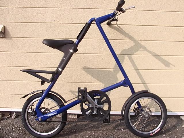 1円stridaストライダ風tribike折畳み自転車hidled専門店アドバンス