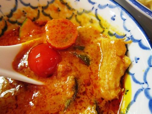 づゅる麺池田 (目黒) 夏野菜のレッドカレーつけ麺