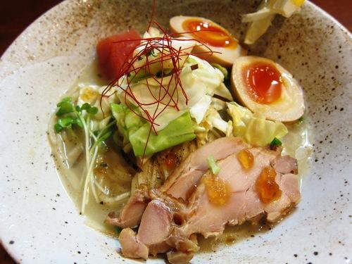 麺処 びぎ屋 (学芸大学) たっぷり嬬恋キャベツの涼麺