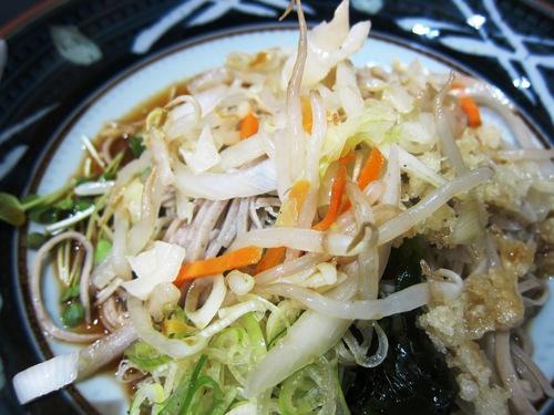 根津そば みとう庵 (流通センター) 冷野菜
