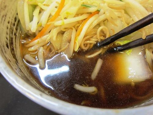 成み屋 (駒沢大学) 野菜そば