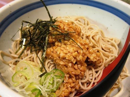 蕎麦一心たすけ (田町) 冷納豆