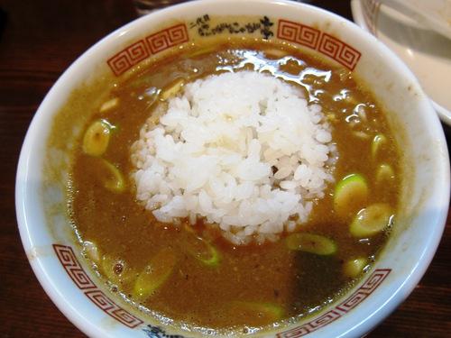 中華そば 二代目 にゃがにゃが亭 (三河島) 味噌つけ麺(さば)