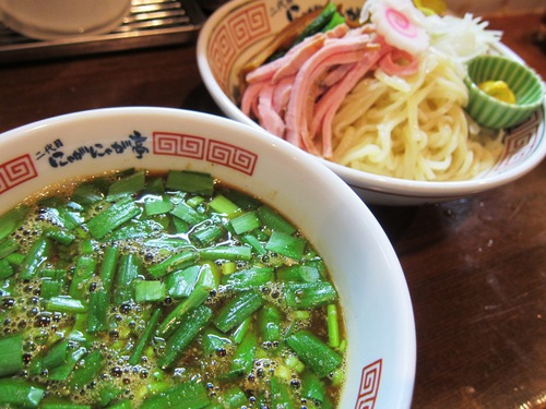 中華そば 二代目 にゃがにゃが亭 (三河島) ウスターソースを使ったつけ麺
