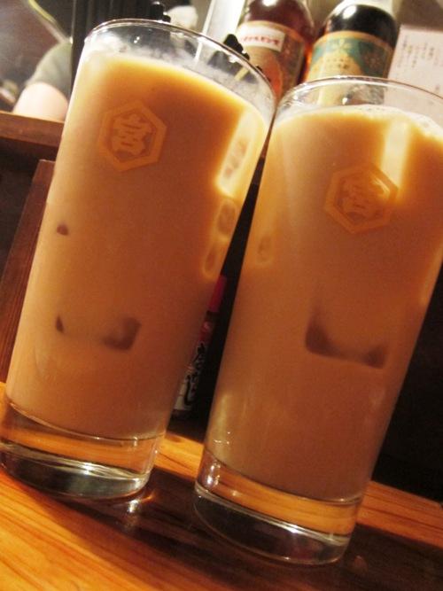 やきとん ま〜ちゃん (仲御徒町) コーヒー豆乳とか
