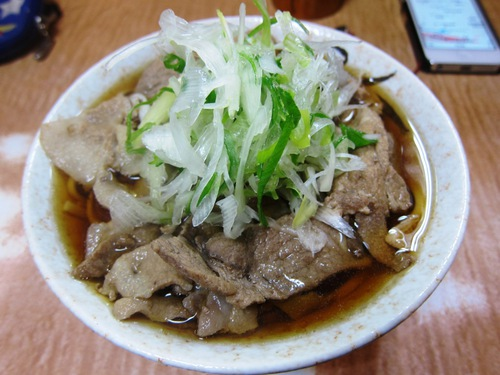 南天本店 (椎名町) 肉そば