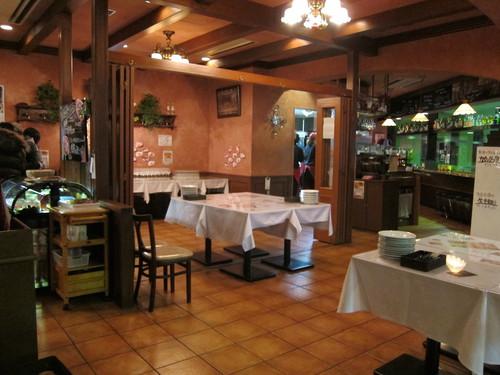 トスカーナ 神谷町店でぼぶ麺会(ぼぶ年会)