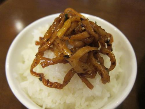 四川秘伝ちりちり (武蔵小山) 汁なし担担麺