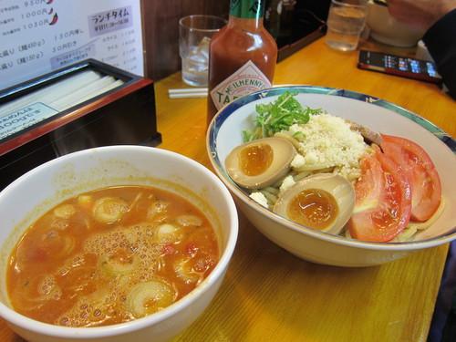 らぁめん 葉月 (雪が谷大塚) マリナラつけ麺