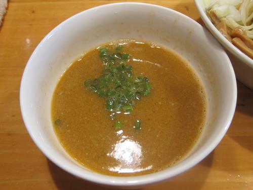 らーめん田 DEN (西大井) つけ麺(海老トマト)