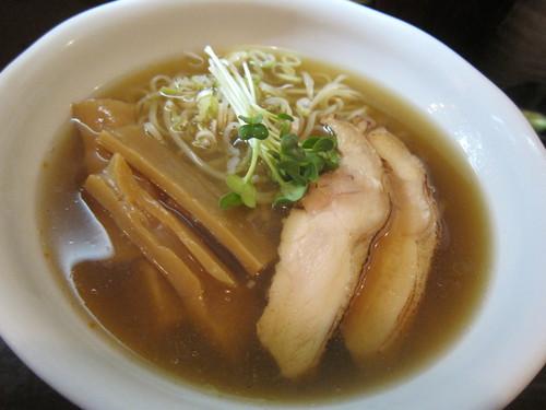 づゅる麺池田 (目黒) 冷し煮干らーめん