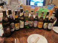 ドイツビールの夕べ (某所) ドイツビールと超絶メンマとまぜそば