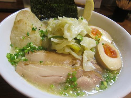 麺処 びぎ屋 (学芸大学) 嬬恋キャベツの冷やし麺