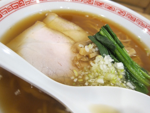 中華そば 熊野 (中延) 醤油そば+おにぎり