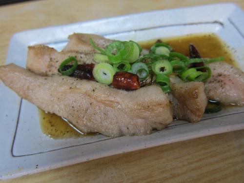 森蔵 (長原) 鶏麺半チャーハンセット