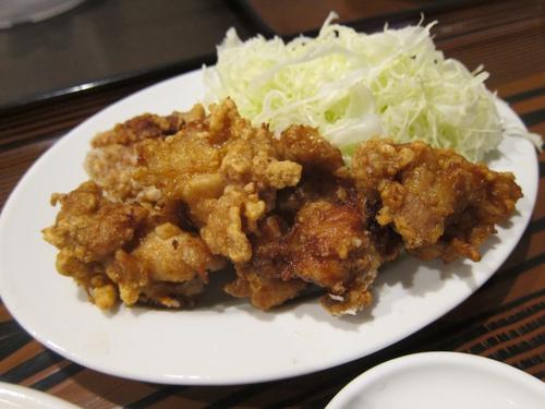 中華 大島 (柏) とりの唐揚定食