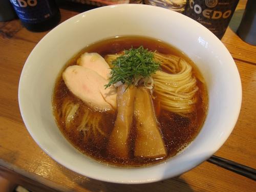 トイ・ボックス (三ノ輪) 鶏油そば