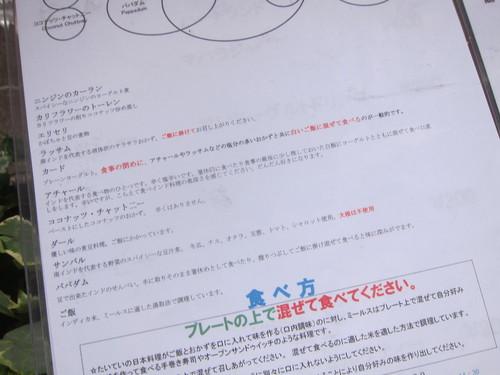 ケララの風Ⅱ (大森) ランチミールス