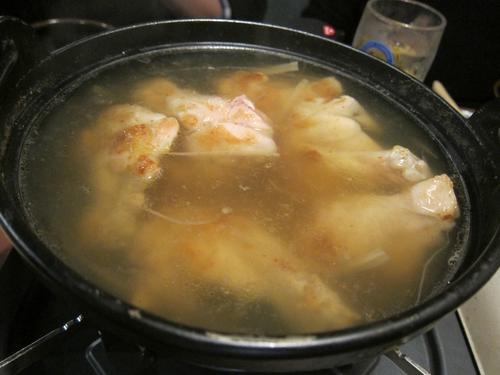 らーめん天神下 大喜 (湯島) 鶏鍋2
