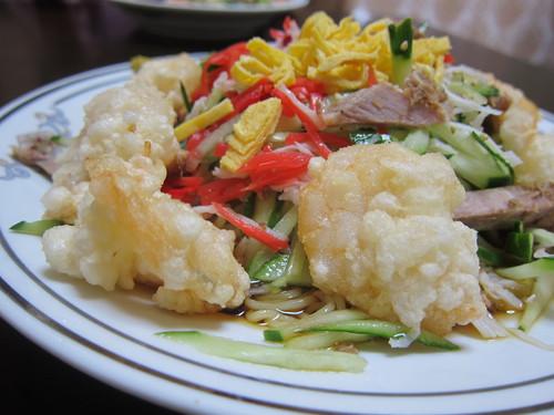 中華料理とき (武蔵小山) えび冷やし