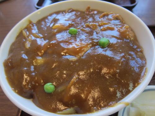 みよし屋 (荏原町) 冷やし中華とカレー丼