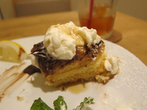 パンケーキママカフェ VoiVoi (三軒茶屋) チョコミントパンケーキ