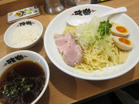 雅楽 (あざみ野) 生揚げ醤油つけ麺