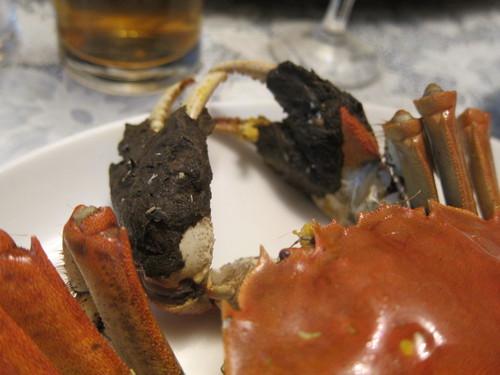 西湖飯店 (池尻大橋) 酔っ払い蟹