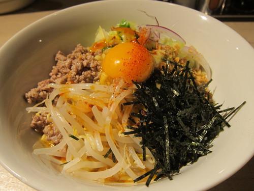 ajito ism (大井町) ajitoのまぜそば ちょい辛ひき肉ver.