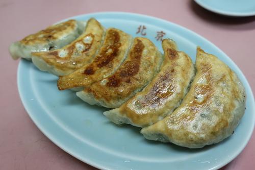 北京中華料理店 (池上) 絶品餃子とネギサービス