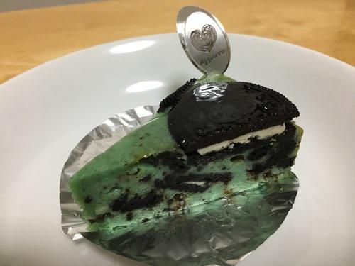 A WORKS (学芸大学) チョコミントオレオチーズケーキ