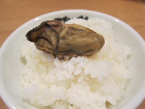 雅楽 (あざみ野) 牡蠣とブナシメジのみそらーめん