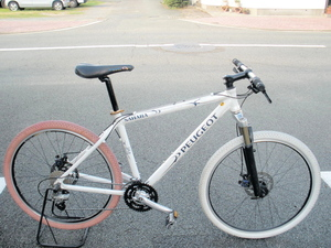 ... プジョーの自転車 中古自転車