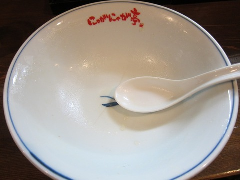 中華そば 二代目 にゃがにゃが亭 (三河島) 白菜そば