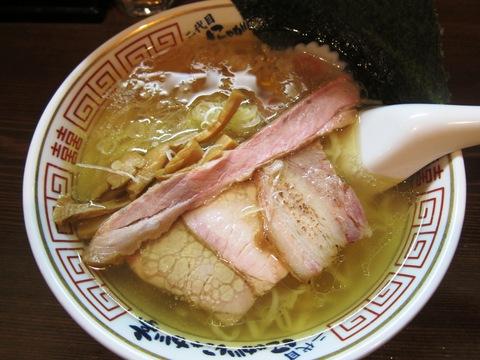 中華そば 二代目 にゃがにゃが亭 (三河島) 潮味・味噌味