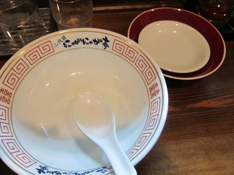 中華そば 二代目 にゃがにゃが亭 (三河島)さんま香油塩中華
