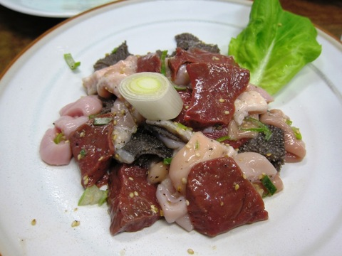 スタミナ苑 (鹿浜) ガンダーラDE肉クウ