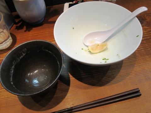 町田汁場 しおらーめん進化 (町田)濃縮牡蠣出汁の温つけめん