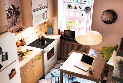Http://www.getitcut.com/kitchen Design Ideas 2012 By Ikea/kitchen Design  Ideas 2012 By Ikea Brown Wall Small Space/