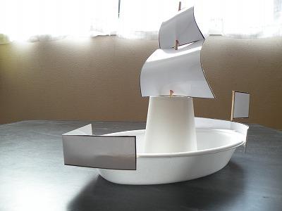 ひでさんの工作部屋:船をつく ... : 理科 自由研究 作品例 : 自由研究