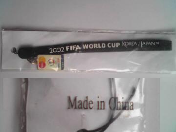 2002日韓ワールドカップストラップ