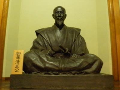 加藤清正 (1562~1611) 安土桃山時代の武将。熊本城を築城し、... 【熊本市】三賢堂
